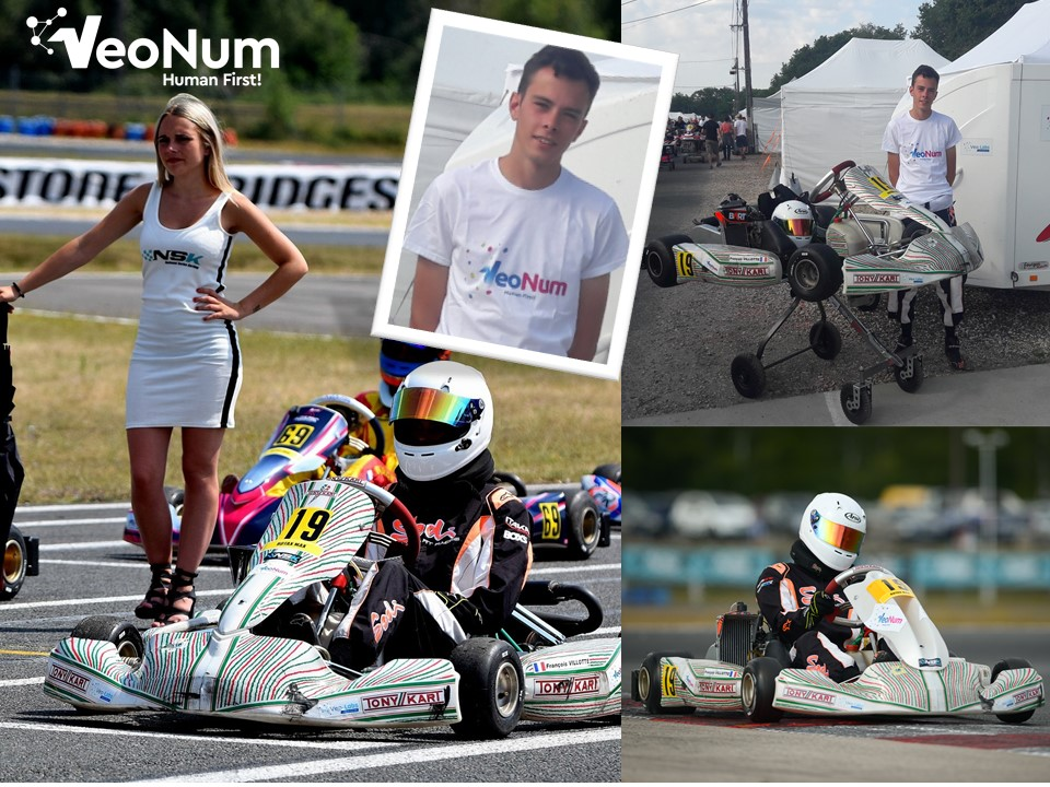 VeoNum / Etudiant ESEO / Coupe de France Karting à Laval du 13 au 16 septembre