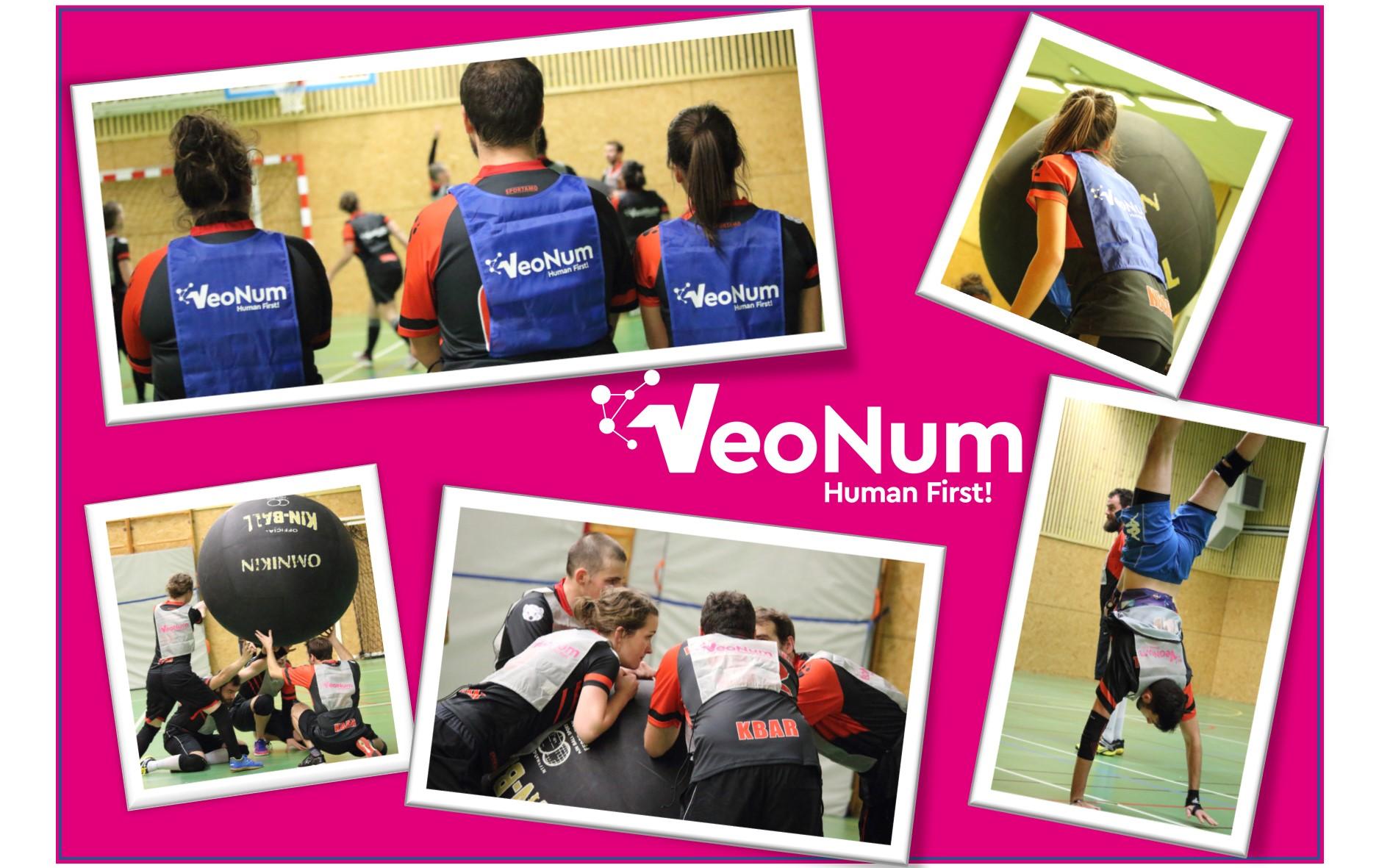 VeoNum sponsorise le KinBall avec de nouveaux Chasubles